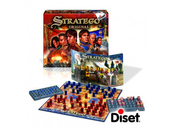 Diset - 80511 - Jeu de Stratégie - Stratego Original (Fr+It)